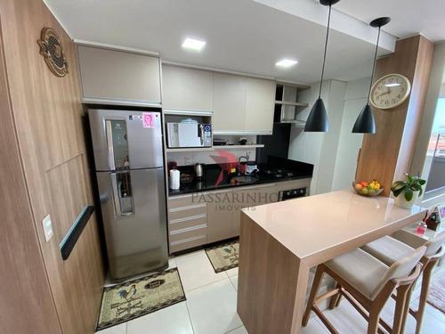 Apartamento Com 3 Dormitórios À Venda, 60 M² Por R$ 410.000,00 - Igra Sul - Torres/rs - Ap1456