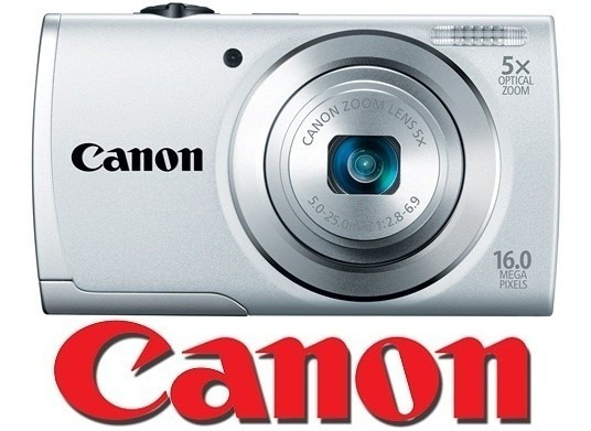 Camara Canon Powershot A2600 16mp 5x Hd + 4gb + Estuch + Trí
