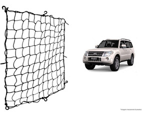 Rede Elástica Bagageiro Porta Malas Mitsubishi Pajero Full