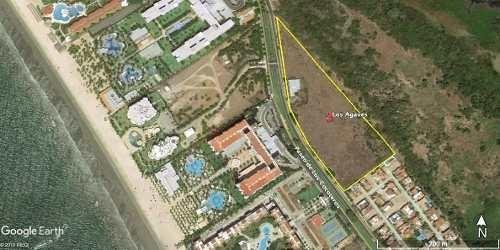 ¡atencion Desarrolladores! Terreno Enfrente Del Riu Nuevo Vallarta Para Construir Departamentos