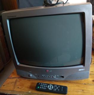 Televisor Color ( Lg ) 21 Pulgadas Con Control Remoto