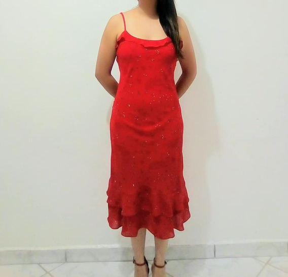 Vestido Rojo Casual Mujer Juvenil Nuevo Moda Primaveral