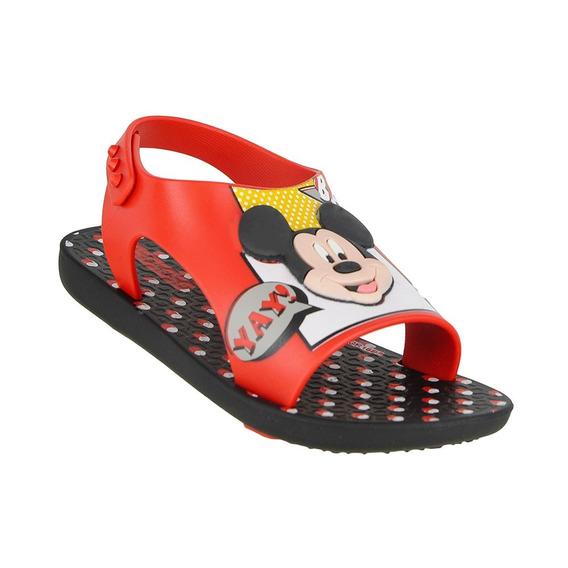 Sandália Ipanema Love Disney Mickey Vermelha Cód: 18