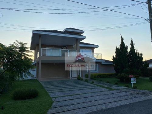 Casa Com 4 Dormitórios À Venda, 453 M² Por R$ 1.850.000,00 - Parque Mirante Do Vale - Jacareí/sp - Ca1065