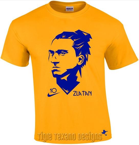 Playera Zlatan Ibrahimovic Fútbol M2 By Tigre Texano Designs