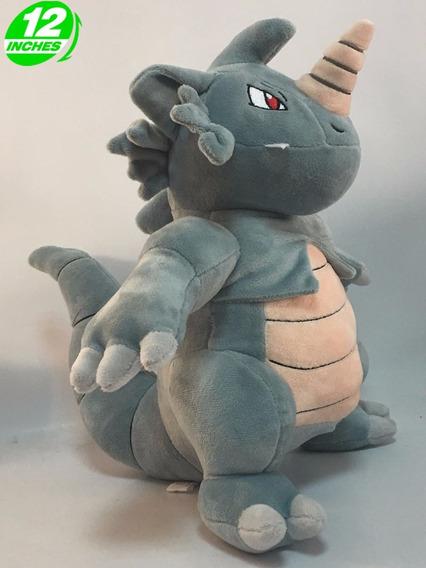 Pelucia Pokemon Rhydon Incriveis 30cm! Frete Gratis!