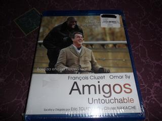Amigos Untouchable Francois Cluzet Blue Ray Nuevo Sellado