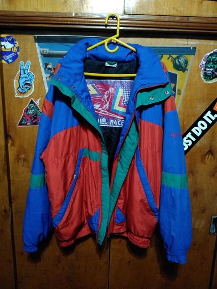 Camperon De Sky Sergio Tacchini Multicolor Vintage Tremendo