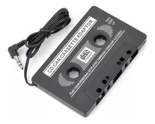 Cassete Adaptador De Audio Auto Stereo P/ Mp3 - Factura A B