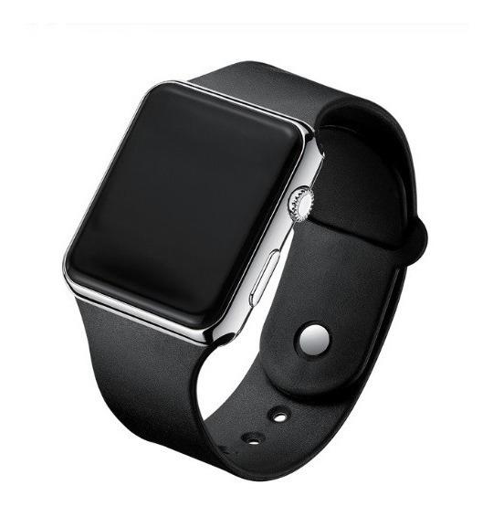 Relógio Digital Feminino Masculino De Pulso Led