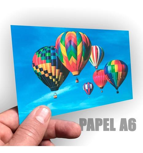 Papel Fotográfico A6 Single Side 260grs-high Glossy 20 Hojas