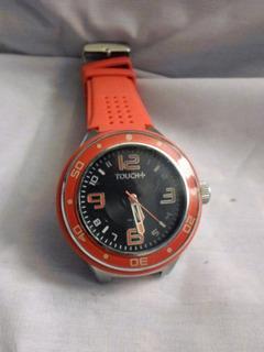 Reloj Pulsera Marca Touch+ Plus, Muy Bueno