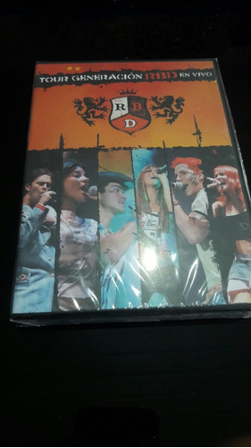 Dvd Rbd Tour Generacion Rbd En Vivo (novo Lacrado De Fábrica