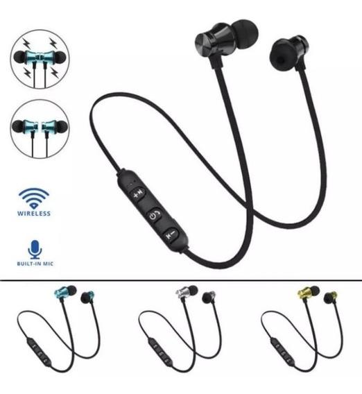 Ímã De Fone De Ouvido Com Microfone Bluetooth Sem Fio