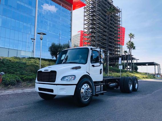 Freightliner Torton Chasis Volteo Plataforma Caja Seca Grua