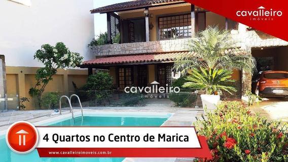 Casa Residencial À Venda, Centro (parque Eldorado), Maricá. - Ca2821
