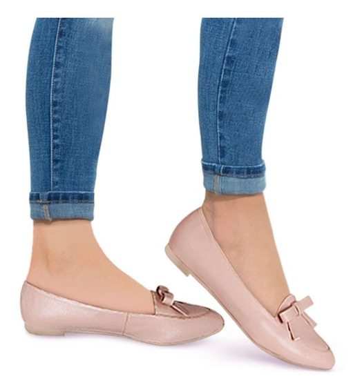 Kit De Zapatos Balerinas Pink Bonitas Negro Y Rosa Msi