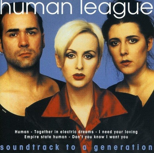 Cd : Human League - Soundtrack To A Generation