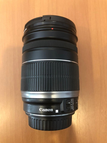 Lente Canon Ef-s 18-200mm Is Nova - Perfeita + Filtro Hoya