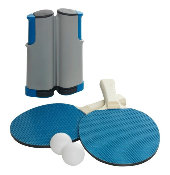 Kit Portátil Tenis De Mesa Retractil, Game Power