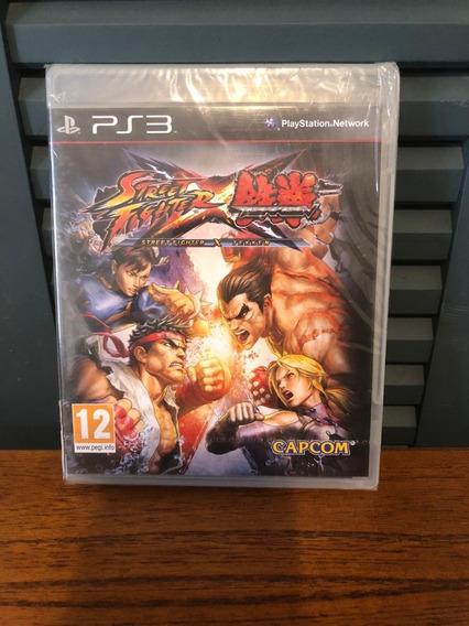 Street Fighter Vs Tekken Ps3 Midia Fisica