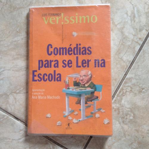 Livro Comédias Para Se Ler Na Escola - Luis Veríssimo C2