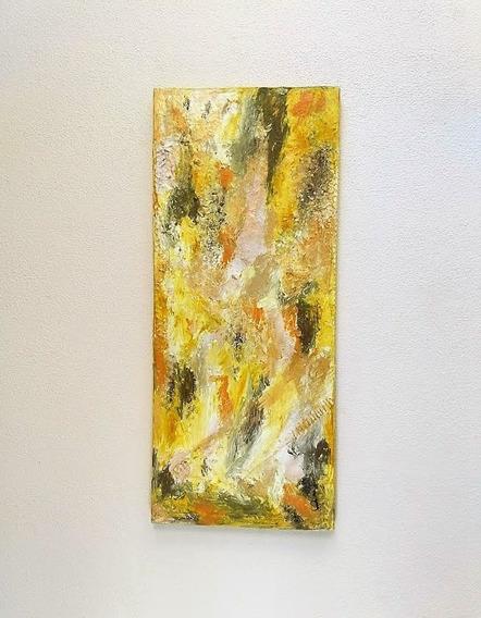 Tela / Pintura Original Obra De Arte Abstrata Nº 0305 Traudi
