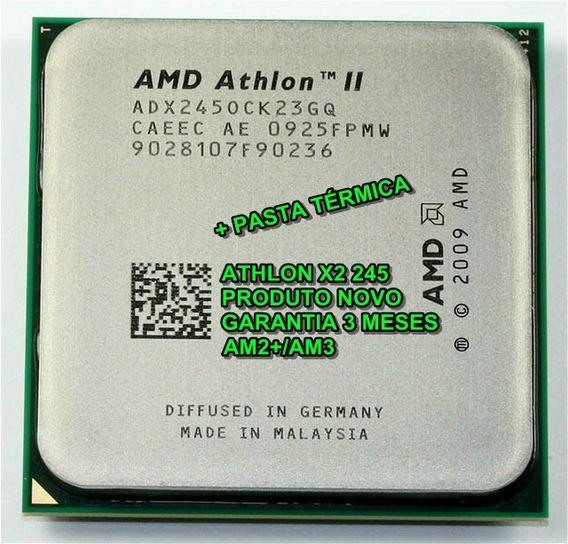 Processador Athlon Ii X2 245 2.9ghz Am2+/am3 + Pasta Térmica