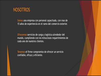 Agencia De Carga, Logística Y Aduanal
