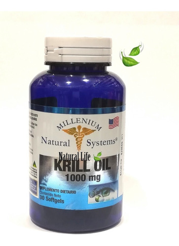 Aceite Krill Oil 1000mg Omega - Unidad a $1567