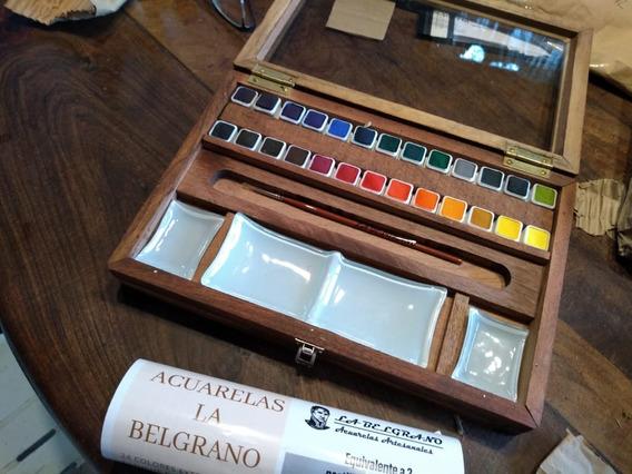 Acuarela Profesional.set 36 Colores Equivale A 72 Importas