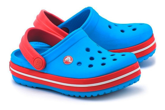 Crocs Crocband Niño Unisex Ocean Red Original