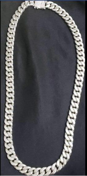 Cordão Com 187 Gramas De Prata Maciça