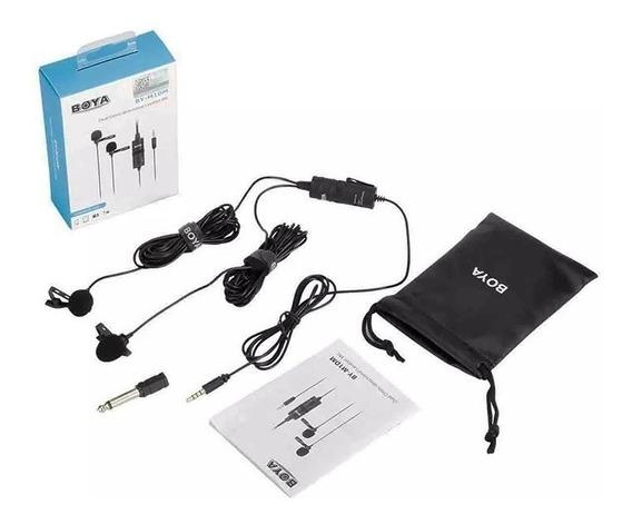 Microfone Lapela Boya By-m1dm Para Cameras E Smartphones