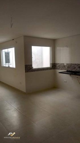 Cobertura Com 2 Dormitórios À Venda, 143 M² Por R$ 424.000 - Vila Alpina - Santo André/sp - Co0912