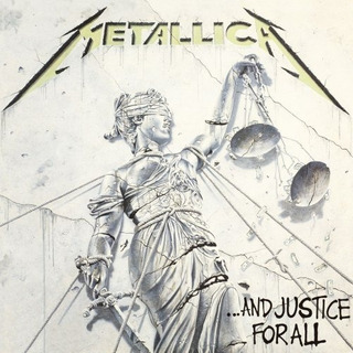 Metallica ... And Justice For All Vinilo Doble Nuevo Sellado