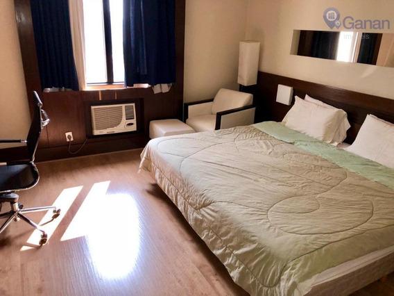 Flat Com 1 Dormitório À Venda, 25 M² Por R$ 250.000 - Campo Belo - São Paulo/sp - Fl0051