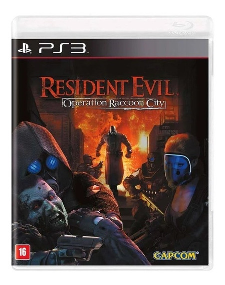 Game - Resident Evil: Operation Raccoon City - Ps3