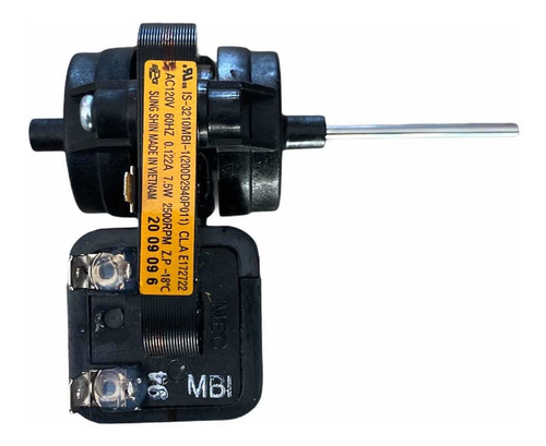Imagen 1 de 4 de Motor Ventilador Evaporador Mabe, Iem, Iomabe Flecha Larga
