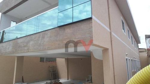 Casa À Venda, 43 M² Por R$ 215.000,00 - Maracanã - Praia Grande/sp - Ca0845