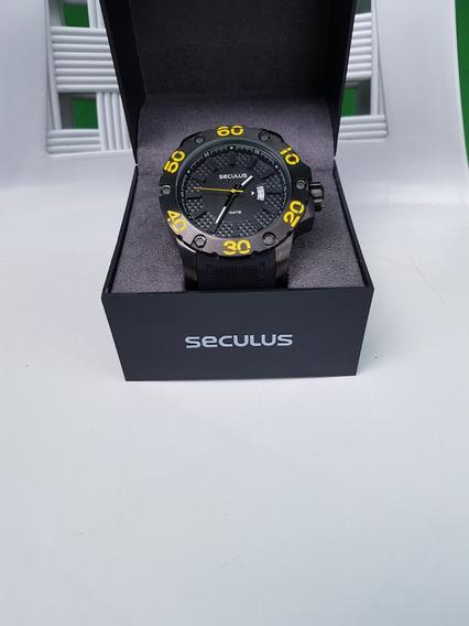 Relógio Masc Seculus 28390gpsbpu1