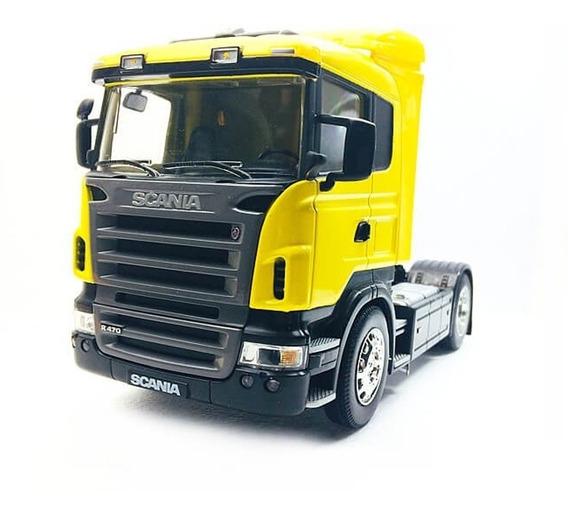 Miniatura Caminhão Scania R470 Toco 4x2 Escala 1:32