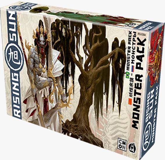 Rising Sun Monster Pack Expansão De Jogo Galapagos Rsu004