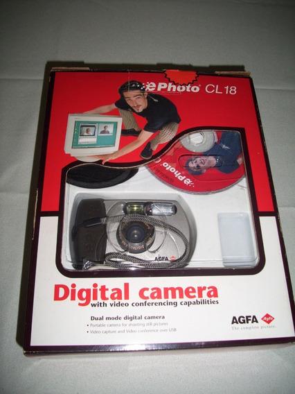 Cámara Digital De Colección Agfa Ephoto Cl18 0.3mp