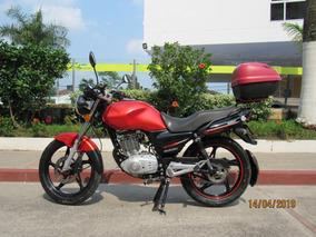 Suzuki Gs 125 Negro Naranja