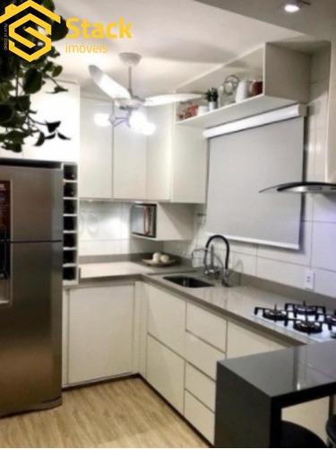 Apartamento A Venda Em Jundiaí Com 60 M² Todo Repaginado, Com Móveis Planejados, Tipo Garden - Ap02055