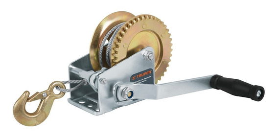 Malacate De Manivela Con Cable Para 650 Kg Truper 14720 Envio Inmediato!!
