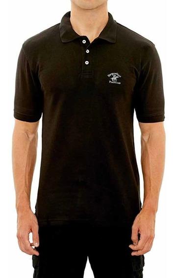 Camisa Beverlyhills Polo Club Talla M Negro Clasic
