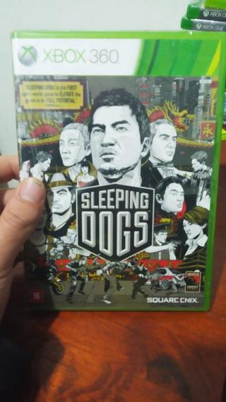 Jogo Sleeping Dogs Xbox 360 - Original Mídia Fisíca