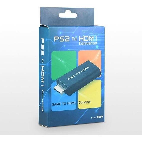 Adaptador Conversor Ps2 P/ Hdmi Imagem Digital Na Caixa